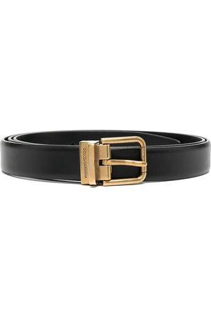 Dolce & Gabbana Buckle-fastening leather belt