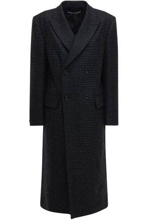 JUNYA WATANABE Double Breasted Wool Coat