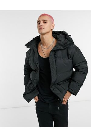 Sixth June Oversized puffer jacket with pocket detail in