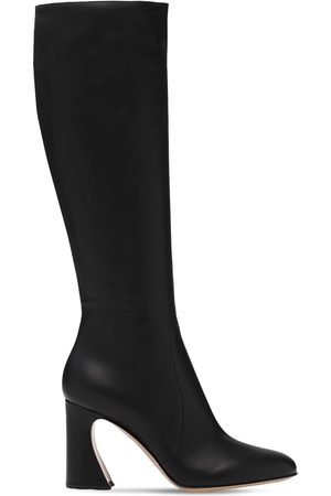 Gianvito Rossi 85mm Leather Tall Boots