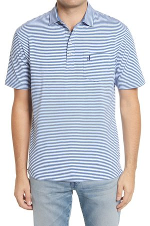 Johnnie-o Men's Hangin' Out Dante Stripe Pocket Polo
