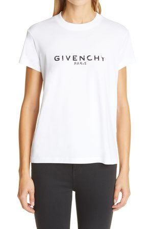 Givenchy Women's Logo Graphic Cotton Tee