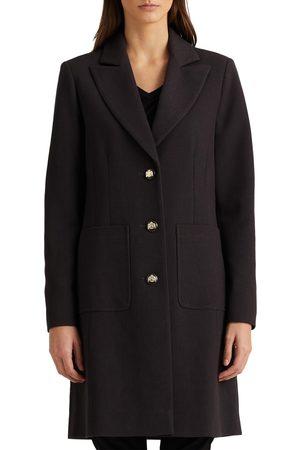 LAUREN RALPH LAUREN Women's Longline Crepe Blazer Coat