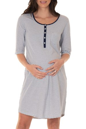 Angel Maternity Women's Maternity/nursing Sleep Dress