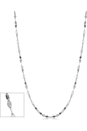 SuperJeweler (1.10 g) 1.9mm Mirror Flat Link Chain Necklace