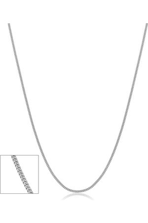 SuperJeweler 14K (1.40 g) 0.9mm Baby Curb Link Chain Necklace