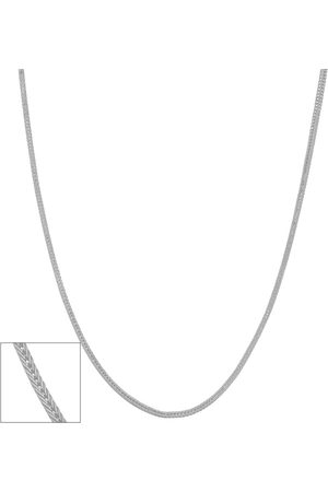 SuperJeweler 14K (1.90 g) 0.9mm Square Foxtail Chain Necklace