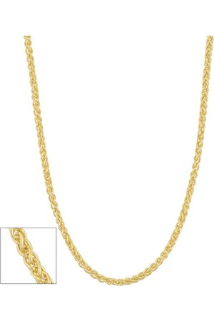 SuperJeweler (3.10 g) 1.6mm Hollow Round Wheat Chain Necklace