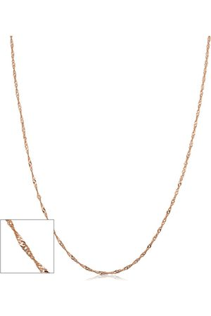 SuperJeweler (1.30 g) 1mm Singapore Chain Necklace
