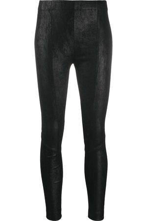 GENTRYPORTOFINO Skinny-fit leather trousers