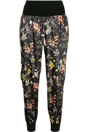 Cinq A Sept Floral print cropped trousers