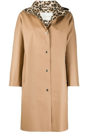 MACKINTOSH Buttoned trench coat - Neutrals