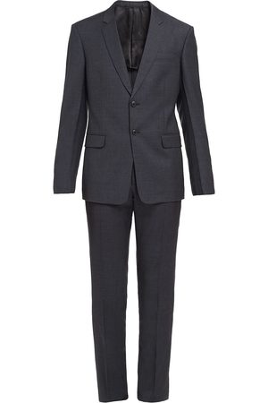 Prada Single-breasted wool suit - Grey