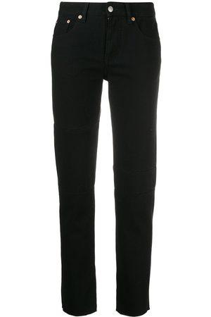 MM6 MAISON MARGIELA Women Tapered - Raw edge jeans