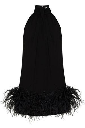 16Arlington Women Party Dresses - Cynthia feather-trim mini dress