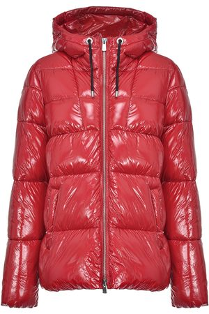 Pinko Quilted high-shine coat