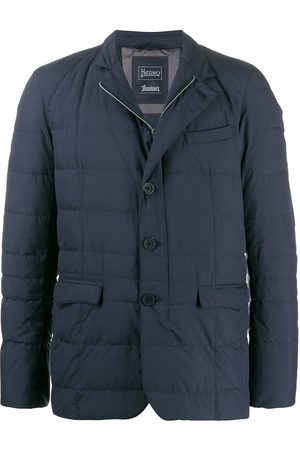 HERNO Men Puffer Jackets - Buttoned up padded jacket