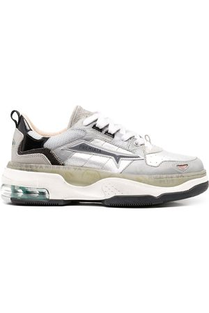 Premiata Draked chunky-sole sneakers - Grey