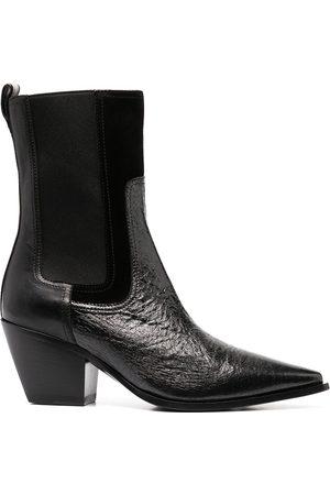 Premiata Women Heeled Boots - Pointed block heel boots
