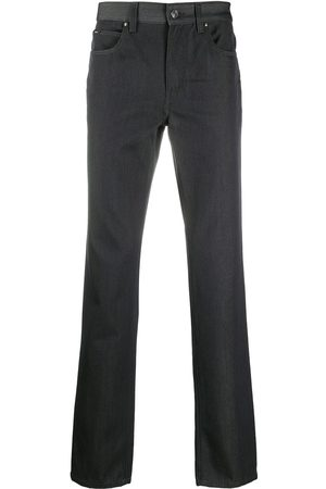 Z Zegna Slim-fit denim jeans - Grey