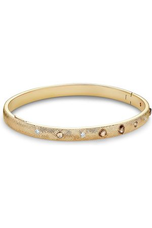 De Beers Jewellers 18kt yellow Talisman diamond bangle