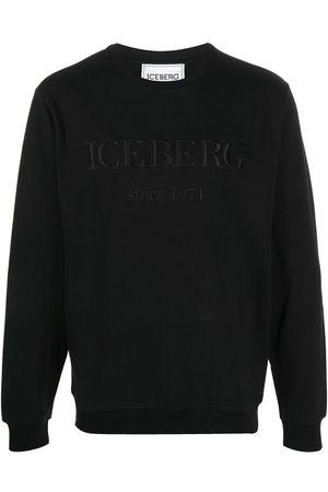 Iceberg Embroidered logo crew neck sweatshirt