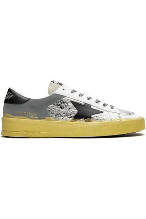 Golden Goose Men Sneakers - Stardan low-top sneakers - Metallic