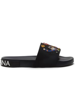 Dolce & Gabbana Stylist patches rubber slides