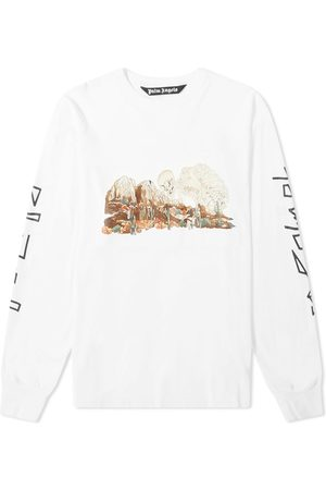 Palm Angels Men Long Sleeve - Long Sleeve Desert Skull Tee
