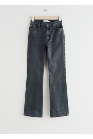 & OTHER STORIES Flared High Waist Jeans