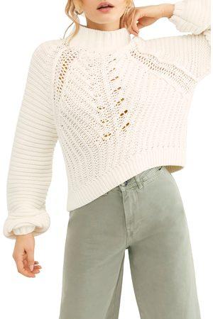 Free People Women's Sweetheart Mock Neck Sweater