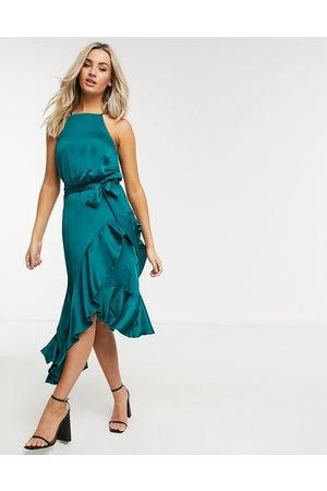 Style Cheat Ariana dress in teal