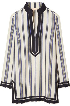 Tory Burch Women's Stripe Beach Tunic