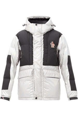 Moncler Grenoble Men Outdoor Jackets - Breuil Metallic Hooded Down Ski Jacket - Mens