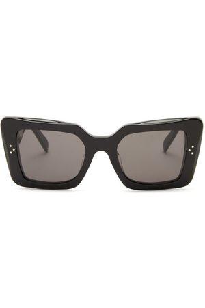 Céline Rectangular Acetate Sunglasses - Womens