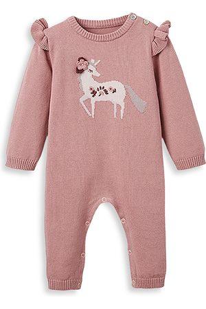 Elegant Baby Girls' Unicorn Coverall - Baby