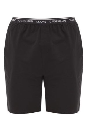 Calvin Klein Cotton-blend Jersey Pyjama Shorts - Mens