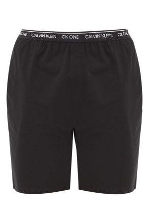 Calvin Klein Men Pajamas - Cotton-blend Jersey Pyjama Shorts - Mens