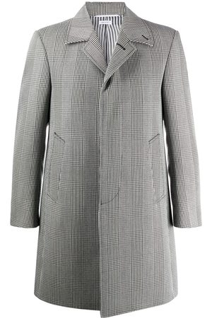 Thom Browne Men Coats - Cavalry twill single-breasted coat
