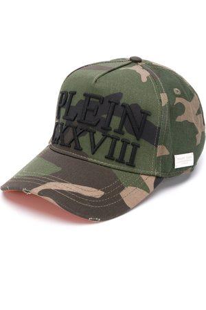 Philipp Plein Embroidered logo camouflage cap
