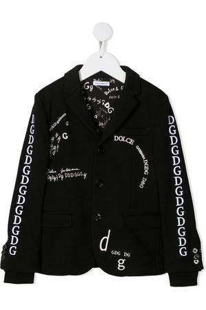 Dolce & Gabbana Doodle embroidered blazer