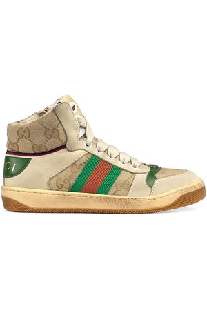 Gucci Screener high-top sneakers - Neutrals