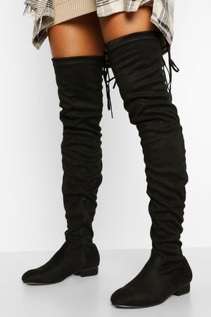 Boohoo Womens Wider Calf Over The Knee Boot - - 5