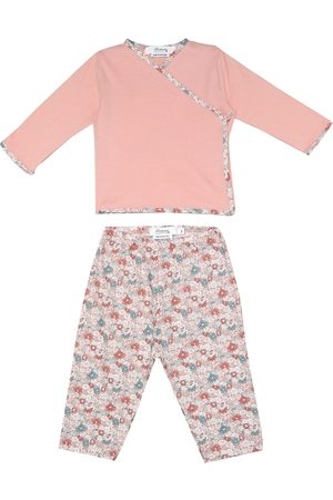 BONPOINT Sets - Baby floral cotton top and pants set