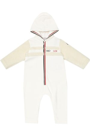 Moncler Baby stretch-cotton onesie