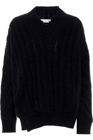 Stella McCartney Cable-knit wool-blend sweater