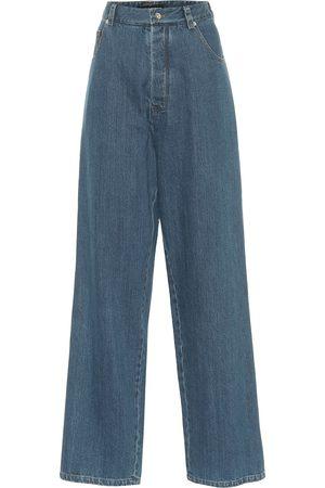 Kwaidan Editions High-rise wide-leg jeans