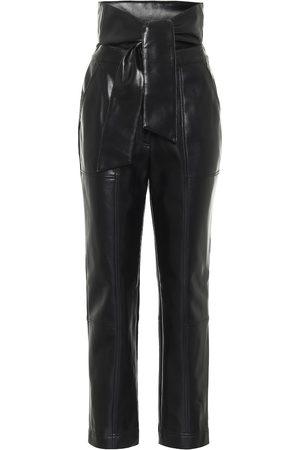 JONATHAN SIMKHAI Tessa high-rise faux leather pants