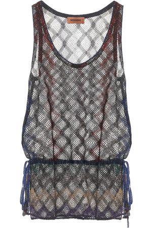Missoni Metallic tank top