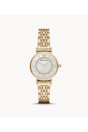 Armani Emporio Women's Two-Hand -Tone Stainless Steel Watch
